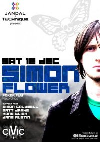 Simon Flower flyer